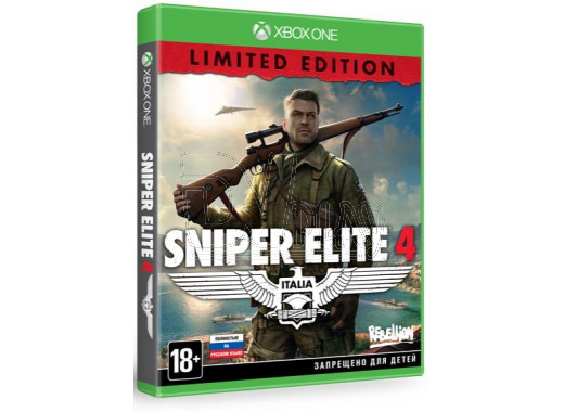 Sniper Elite 4 - Limited Edition  (русская версия) (XBOX One)