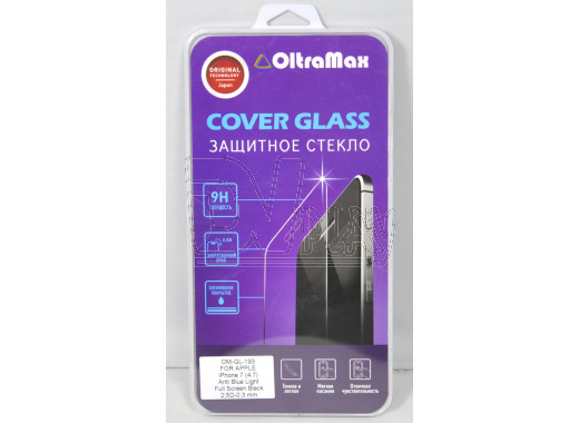 Стекло для iPhone 7 OltraMax White