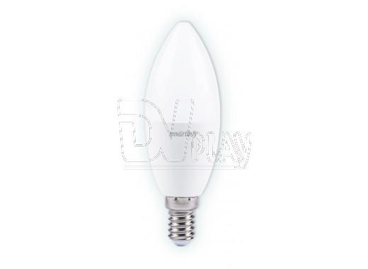 Светодиодная Лампа Smartbuy C37 Е14 9,5Вт холодный дневной свет