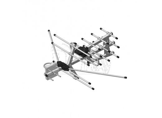 Наружная активная антенна REMO Тритон-S-DX