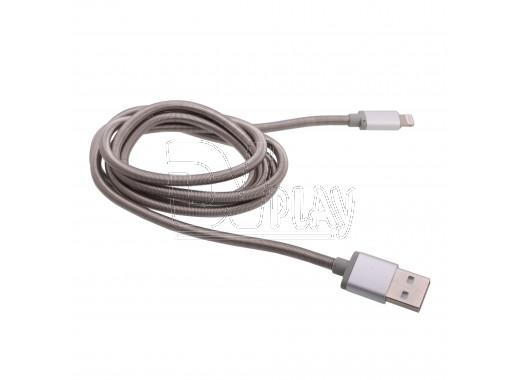Кабель USB A - iPhone 5 (1,2 м) Hoco. U5 металлический