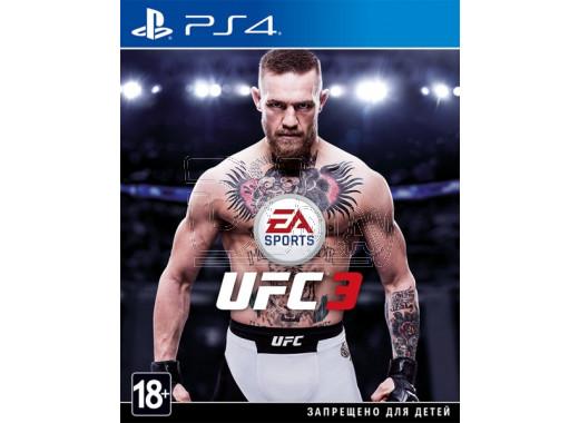 UFC 3 (русские субтитры) (PS4)