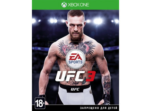 UFC 3 (русские субтитры) (XBOX One)
