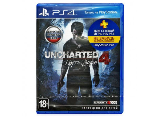 Uncharted 4: Путь вора (русская версия) (PS4)