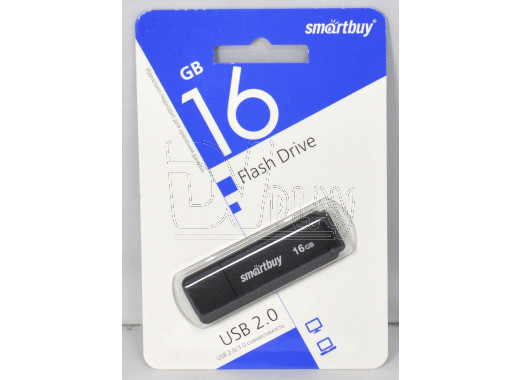 USB Flash 16Gb Smart Buy LM05 черная
