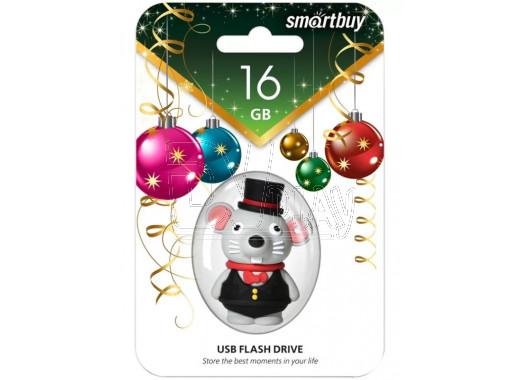 USB Flash 16Gb Smart Buy NY series Мышка (2020)