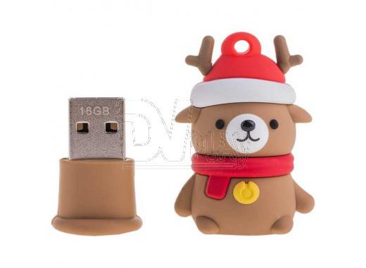 USB Flash 16Gb Smart Buy NY series Медведь Caribou
