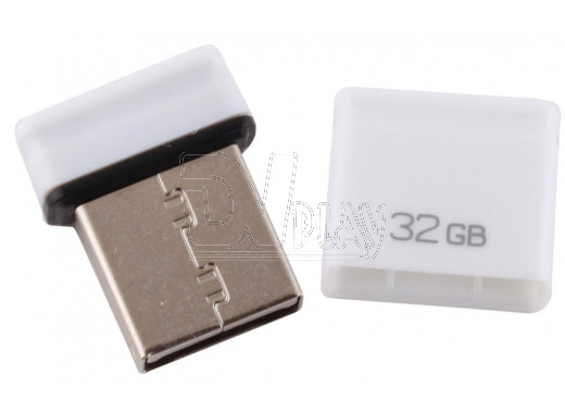 USB Flash 32Gb Qumo Nano белая