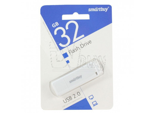 USB Flash 32Gb Smart Buy LM05 белая