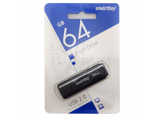 USB Flash 64Gb Smart Buy LM05 черная