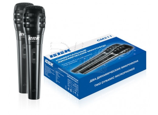 Микрофон BBK CM 211 (комплект 2 шт)