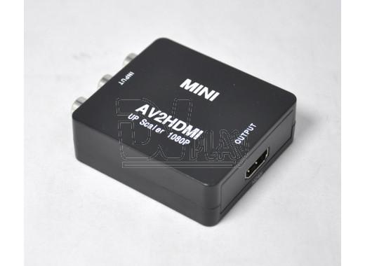 Видеоконвертер 3xRCA - HDMI