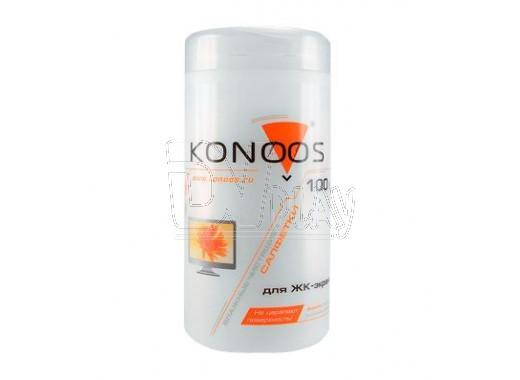 Влажные салфетки Konoos KBF-100