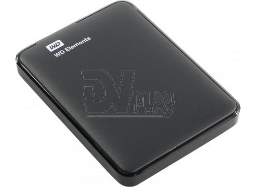 Внешний диск 1 TB WD Elements Portable USB 3.0 черный