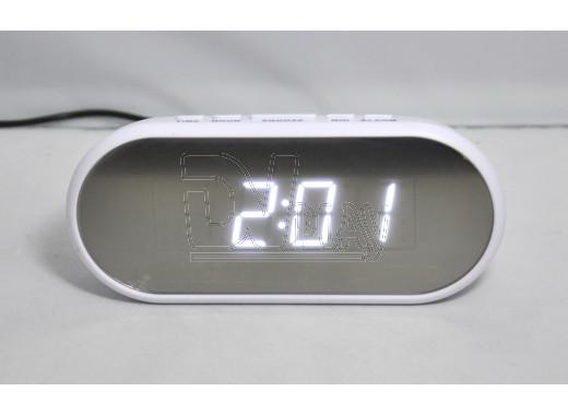 VST 712Y-6 часы настольные с белыми цифрами