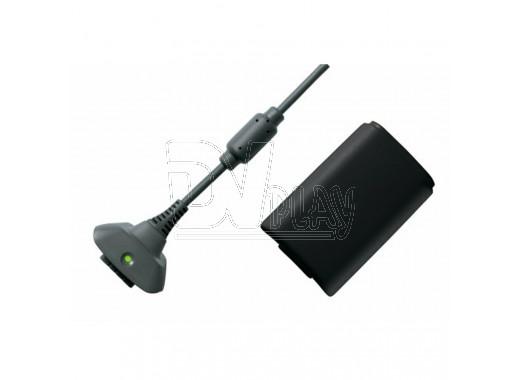 Аккумулятор для геймпада 2400 черный + кабель XBOX 360