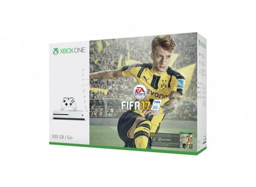 Xbox One S 500 Gb + Fifa 17