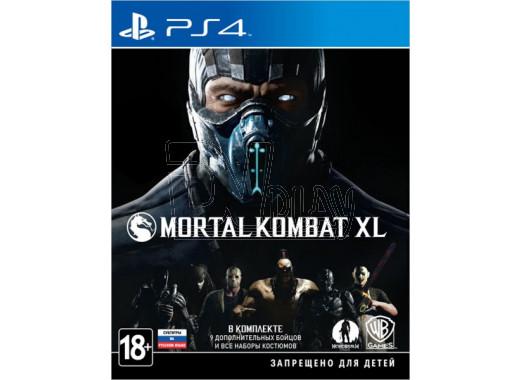 Mortal Kombat XL (русские субтитры) (PS4)