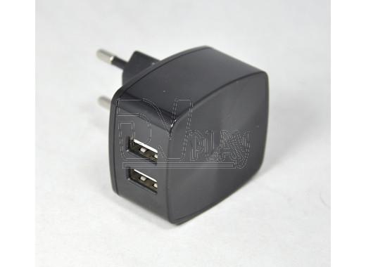 Зарядное устройство 2 USB 2.4A Hoco. C26A