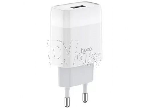 Зарядное устройство USB 2.1A Hoco. C72A