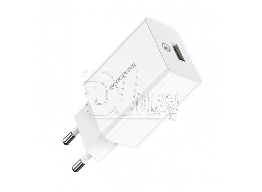 Зарядное устройство USB 3.0A Borofone BA21A Quick Charge 3.0