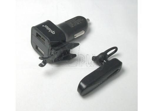 Автомобильная зарядка Eplutus CB-100 BT-гарнитура