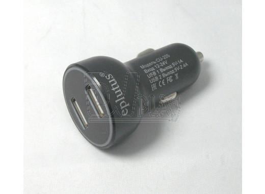 Автомобильная зарядка Eplutus CU-205