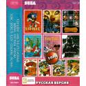 10в1 Tom&Jerry+ Arial +Batman+Tiny Toon+Fantasia+ Sonic+Shove It+Flicky+ Columns+PacMan