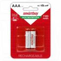 Аккумуляторы Smartbuy HR03 1100mAh NiMH BL2 AAA в упаковке 2 шт