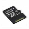 microSD 128Gb Kingston Class 10 UHS-I U1 без адаптера