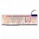 Клавиатура игровая Dialog KGK-15U Gan-Kata белая с подсветкой