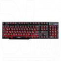 Клавиатура игровая Dialog KGK-15U Gan-Kata черная с подсветкой