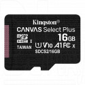 microSDHC 16Gb Kingston Class 10 A1 (100 Mb/s) без адаптера