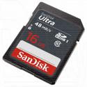 SDHC 16Gb SanDisk Class 10 Ultra UHS-I