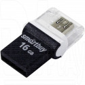 USB Flash 16Gb SmartBuy OTG Poko series черная