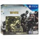 PlayStation 4 Slim 1TB + Call of Duty WWII зеленый камуфляж LE