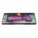 Клавиатура игровая Dialog KGK-25U Gan-Kata серебряная с подсветкой