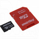 microSD 256Gb Smart Buy Class 10 Pro UHS-I U3 с адаптером
