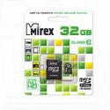 microSDHC 32Gb Mirex Class 10 с адаптером