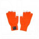 Перчатки с гарнитурой Bluetooth Harper HB-502 оранжевые