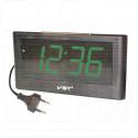 Часы настольные VST 732-2 зеленые цифры