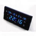 Часы электронные VST 795-W-5 настенные (часы,дата,термометр) ярко-синий