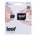 microSD 8Gb LEEF Class 10 с адаптером