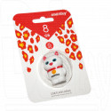 USB Flash 8Gb Smart Buy Wild Series Catty белый