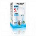 Светодиодная Лампа Smartbuy A60 (Е27, 5Вт, белый свет)