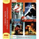 4в1 Ghostbusters + James Bond + Runark + Rambo 3