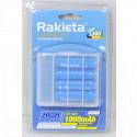 Аккумуляторы Rakieta HR03 1000mAh NiMH BL4 AAA в упаковке 4 шт