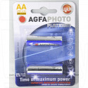 Agfa Photo Platinum LR6 BL2 упаковка 2шт