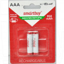 Аккумуляторы Smartbuy HR03 950mAh NiMH BL2 AAA в упаковке 2 шт