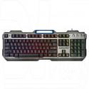 Клавиатура игровая Defender Assault GK-350L металл с подсветкой